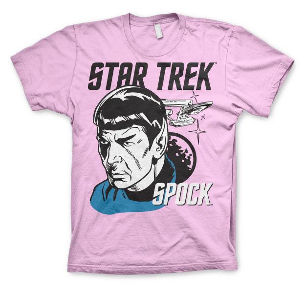 a0c094c5bc8 Pánske tričko Star Trek   Spock Farba  Ružová