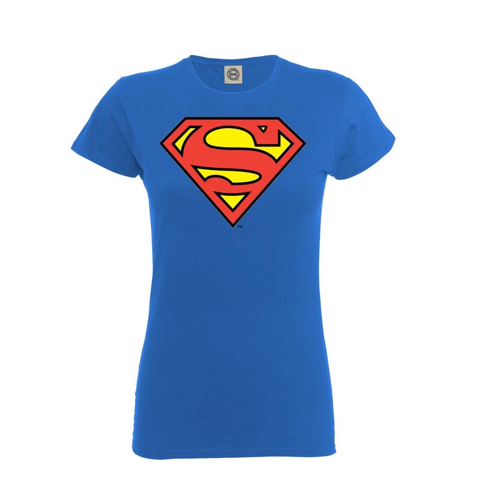 Dámske Tričko OFFICIAL SUPERMAN SHIELD Veľkosť  XL 185066190c