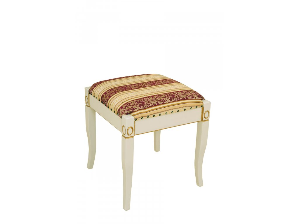Ložnice Mery taburet (Bílá patina)