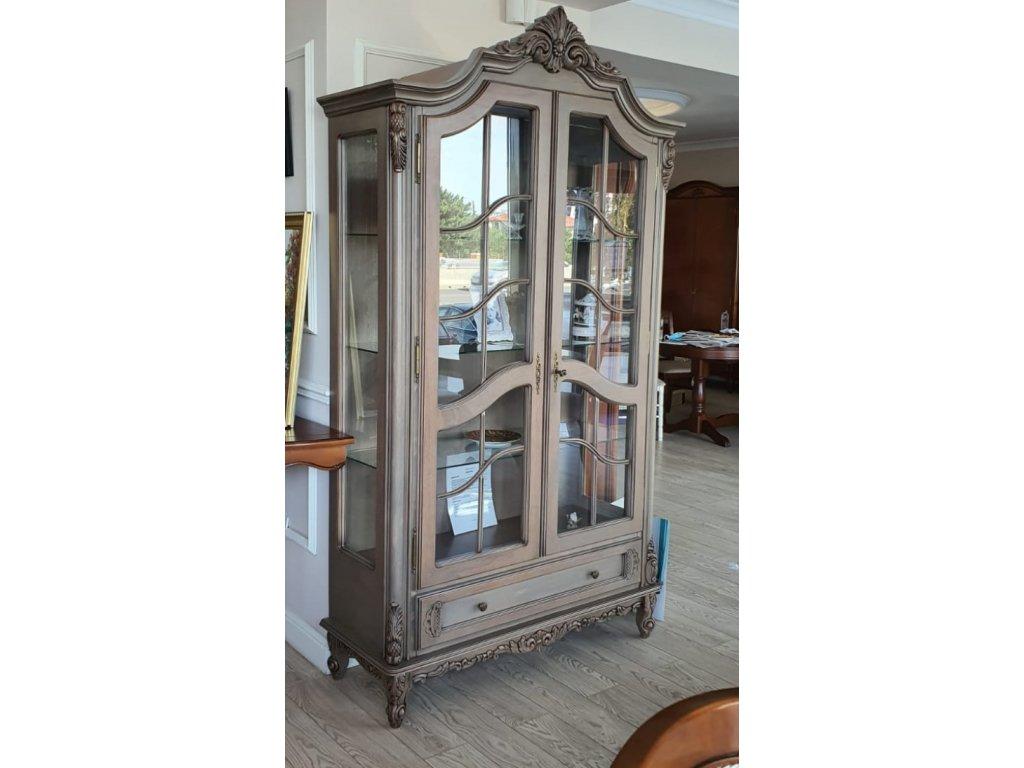 vitrina prosklena royal dvoudverova