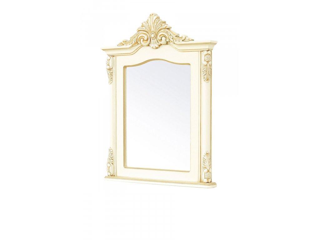 luxusni zrcadlo royal bila