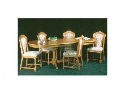 Stůl Paris a židle Pissa