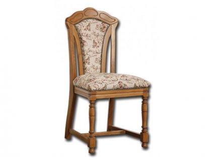 Židle Pissa světlý žakárový potah