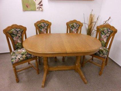 Stůl Evropa a židle Pissa