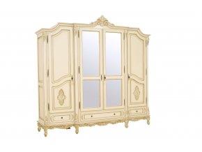 Ložnice Royal skříň 4 (š 2450, hl 660, v 2350 mm)