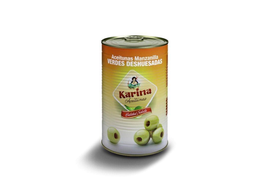 Karina Olivy zelene vykostkovane 4300g konzerva