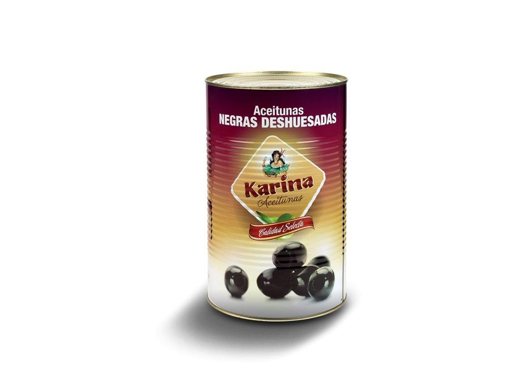 Karina Olivy cierne vykostkovane 4300g konzerva