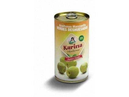 Karina Olivy zelene vykostkovane 350g konzerva