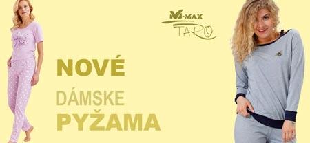 Dámske pyžamá, nočné košele Taro a M-max