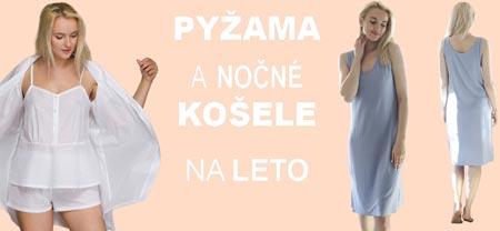 Dámske pyžamá, močmé košele KEY