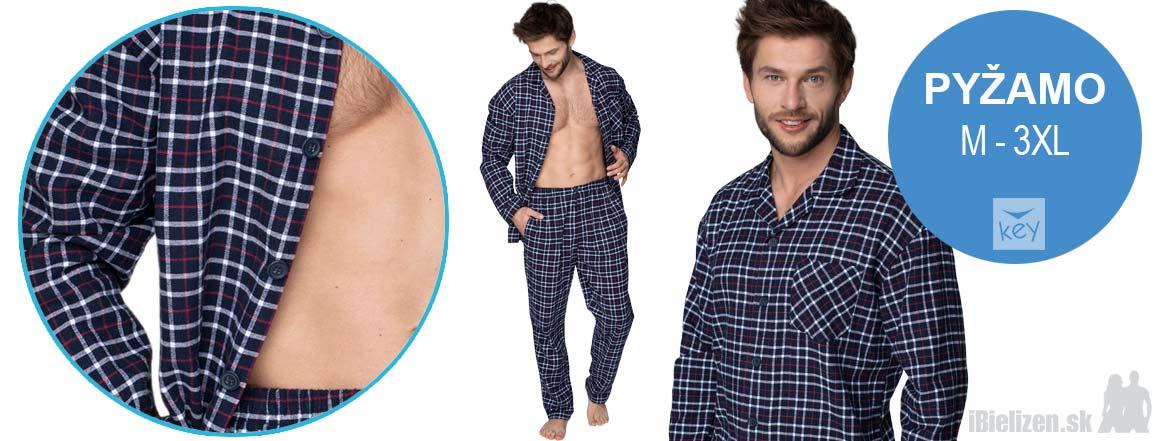 Pánske pyžamo - KEY MNS046