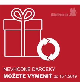 NEVHODNÉ darčeky môžete VYMENIŤ do 15.1.2019