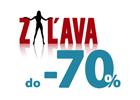 Zľavy do 70%