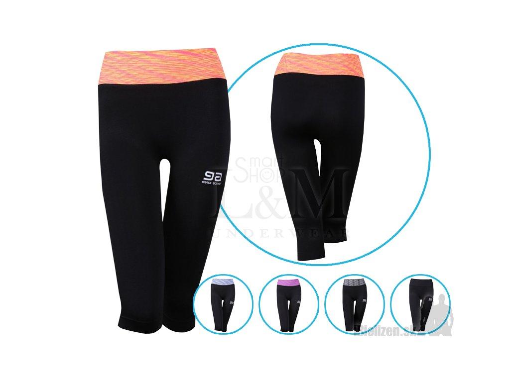 5a69870172 Dámske legíny - športové - trojštvrťové - Gatta Fitness Leggings ...