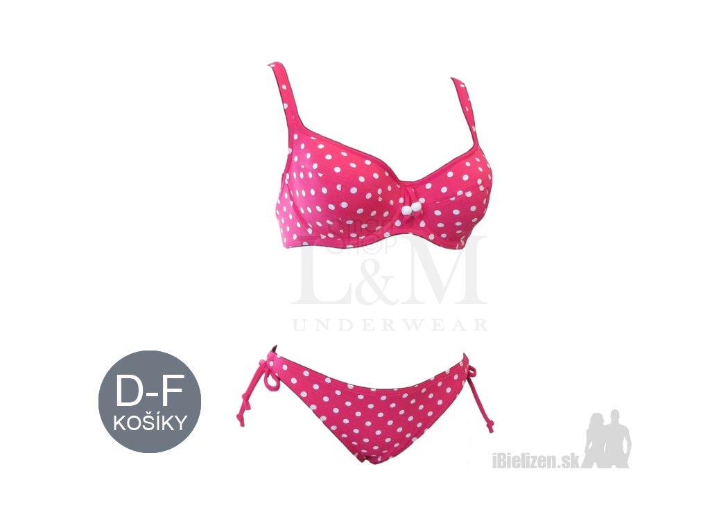bb451899a Dámske plavky - podprsenka + nohavičky - Triola 82066 + 96066 ...