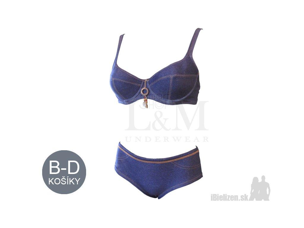 f4c9d341e Dámske plavky – podprsenka + nohavičky - Triola 82038 + 95038 ...