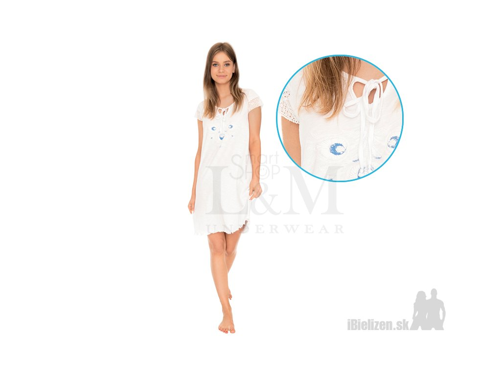 5a8de00f0891 Dámska nočná košeľa - KEY LND578 - iBielizen.sk