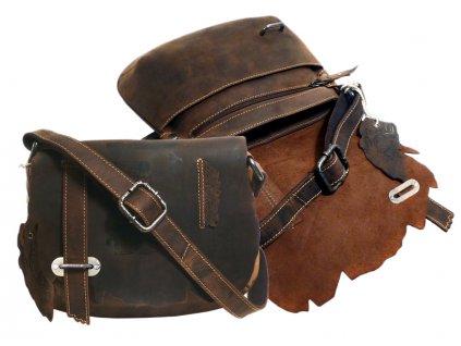 Kožená taška cez rameno - Landleder Anatomy Brenda (Casualbag)