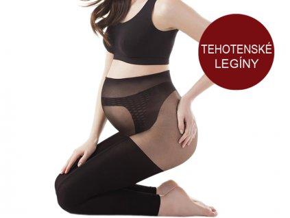 Dámske pančuchové legíny - tehotenské - Gatta Body Protect (100 DEN)