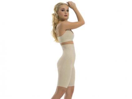 Formujúce a sťahujúce šortky s vysokým pásom - FormEasy High Waist Long Leg Shaper 0600