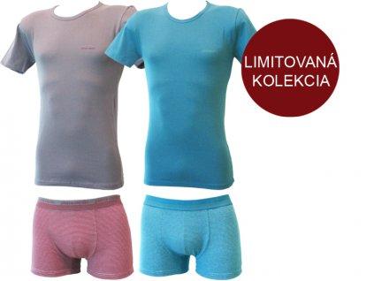 Pánsky set - boxerky + tričko - Pierre Cardin N1007