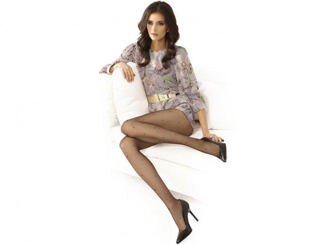 Dámske pančuchové nohavice - Gatta Dotsy 03 (20 DEN)