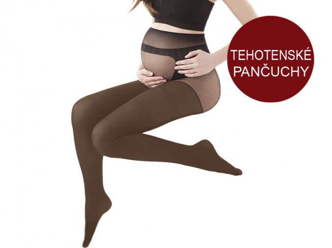 Dámske pančuchové nohavice - tehotenské - Gatta Body Protect (20 DEN)