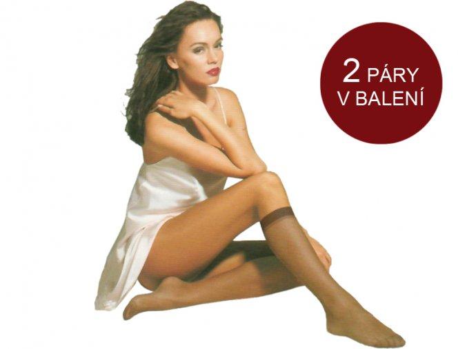 Dámske pančuchové podkolienky - Gatta Bonita - Stretch (15 DEN - 2 páry)