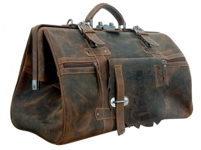 Cestová rámová taška - Landleder Anatomy Frame-Traveller (Bügel Reisetasche XL)
