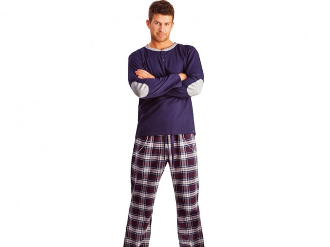 Pánske pyžamo - KEY MNS423