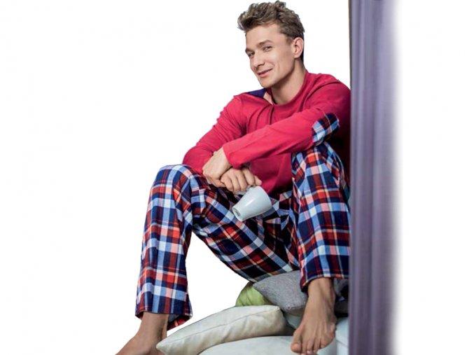 Pánske pyžamo - KEY MNS488