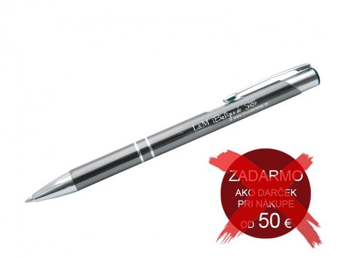Exkluzívne kovové pero s gravírovaným logom L&M UNDERWEAR | iBielizen.sk  (zadarmo ako darček pri nákupe od 50 €)