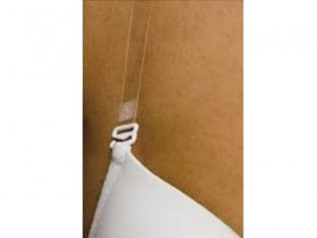 Vymeniteľné plastové ramienka na podprsenku s kovovým háčikom - TRIOLA 00005 - 10 mm