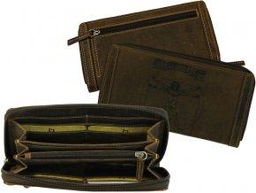 Dámska kožená peňaženka - Landleder Anatomy Laura (Kuvertbörse)