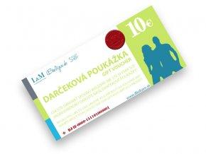 Darčeková poukážka L&M UNDERWEAR | iBielizen.sk | 10 €