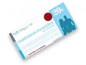 Darčeková poukážka L&M UNDERWEAR | iBielizen.sk | 20 €