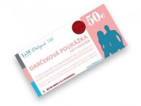 Darčeková poukážka L&M UNDERWEAR | iBielizen.sk | 50 €