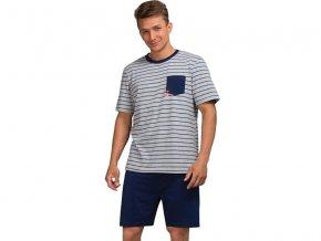 Pánske pyžamo - KEY MNS374