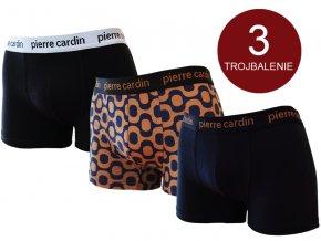 Pánske boxerky - Pierre Cardin Astract (set 3ks)
