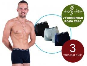 Pánske boxerky - Pierre Cardin U395 (set 3ks)