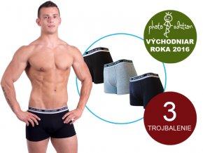 Pánske boxerky - Pierre Cardin Soft (set 3ks)