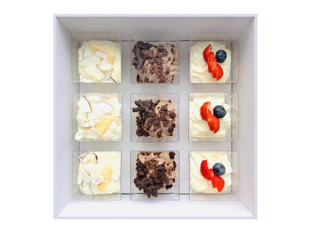 Creamy dessert iBoxík