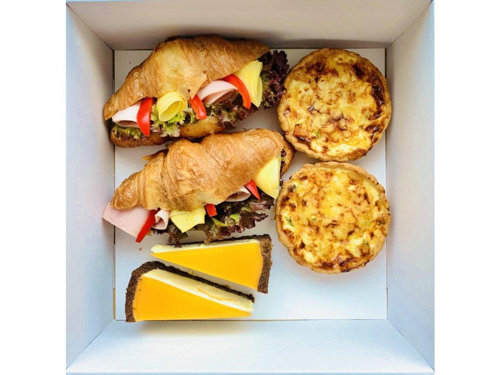 Francouzská snídaně pro dva Labužník
