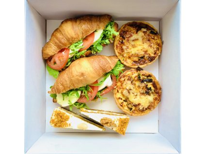 Francouzská snídaně pro dva Vegetarián