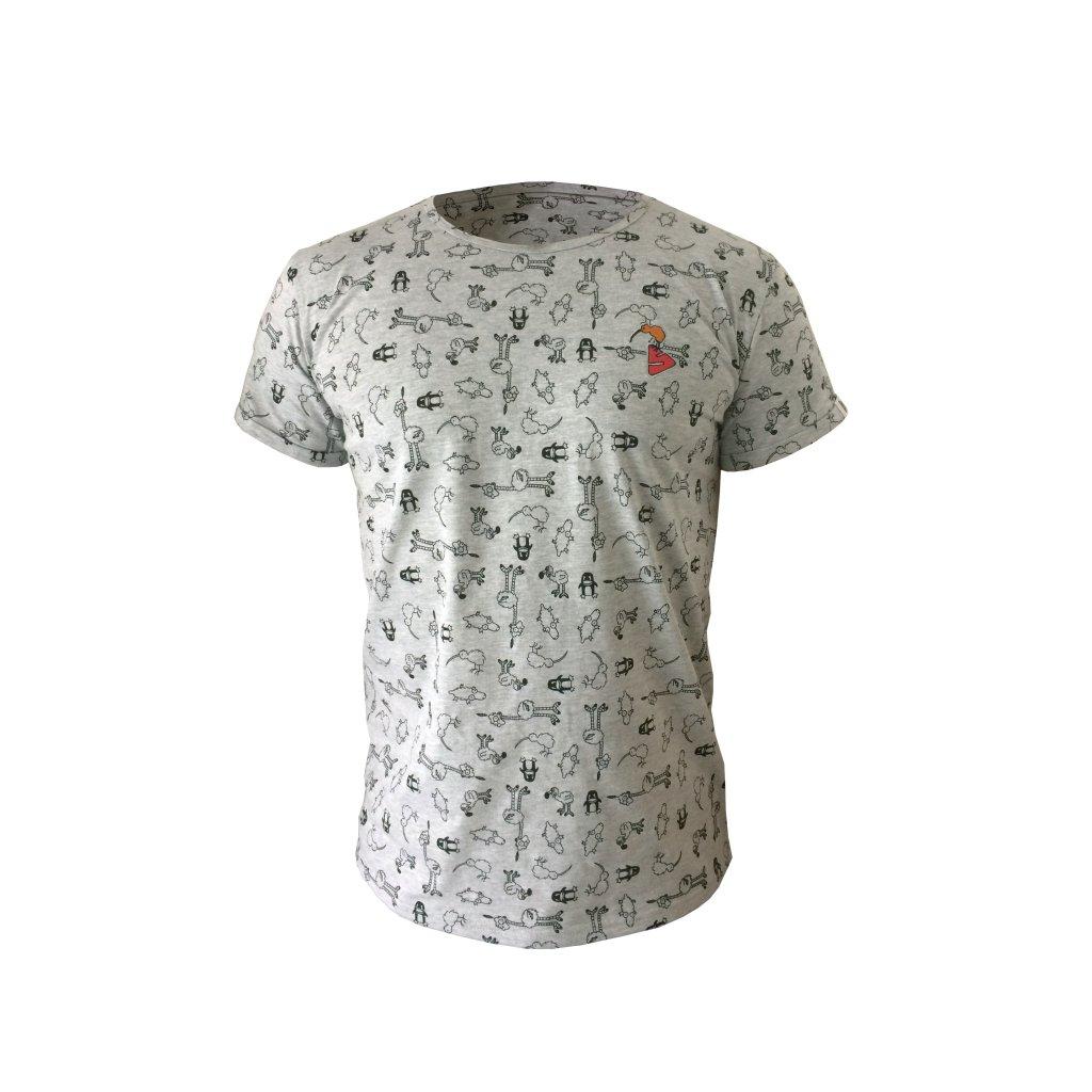 Skafandr KIWI pánské tričko