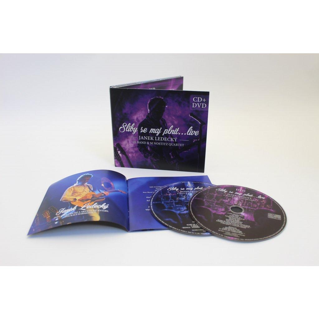 Janek Ledecký – Sliby se maj plnit…live CD+DVD