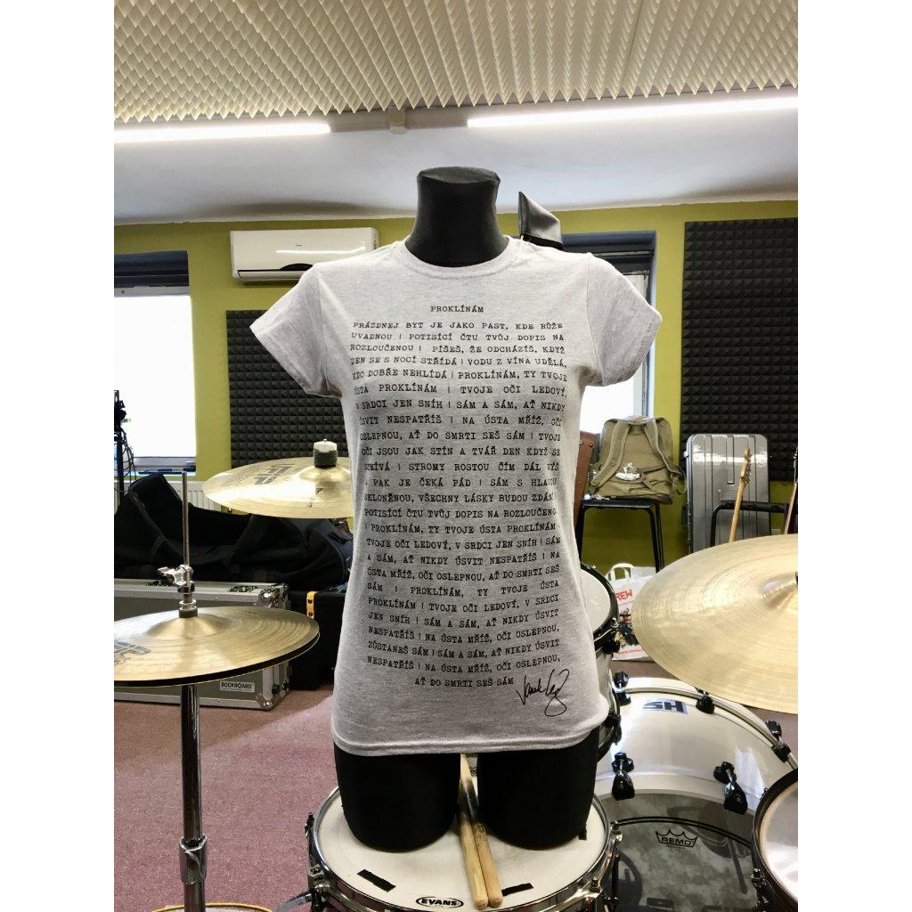 Dámské tričko – Proklínám