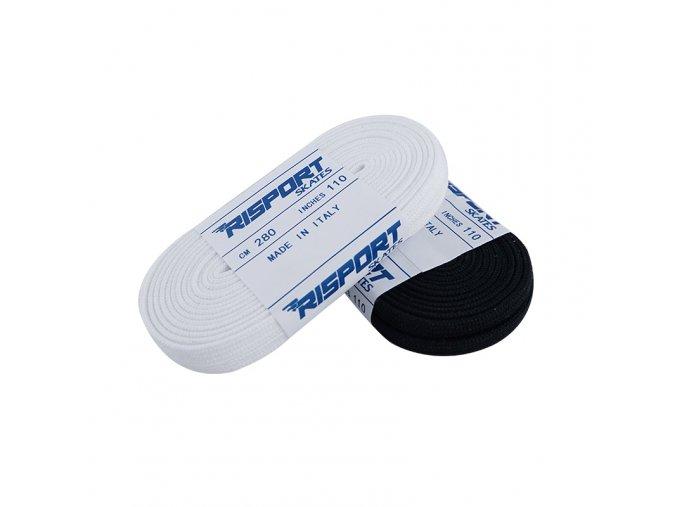 risport tkaničky bílé černé