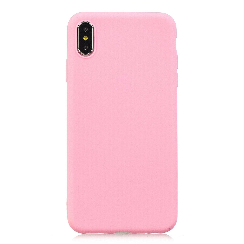 Gelové (silikonové) pouzdro pro Huawei P20 Lite - růžové tmavé