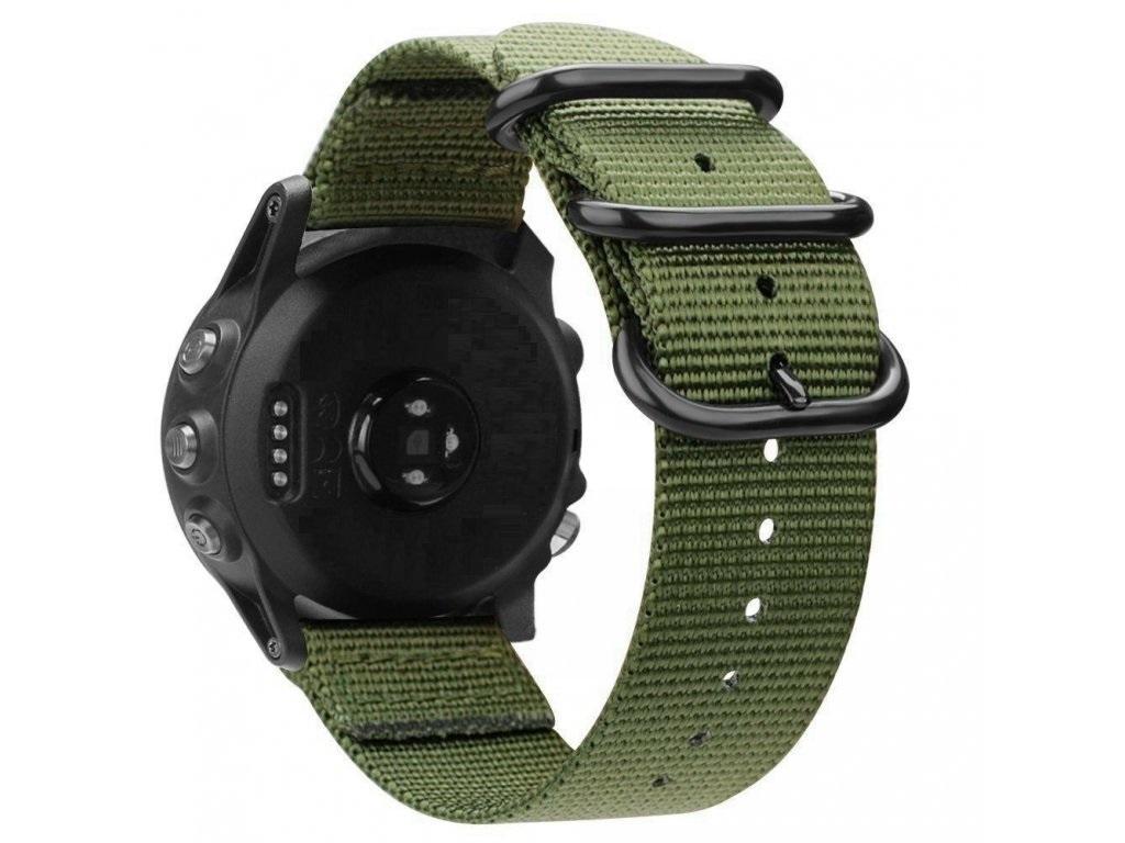 Nylonový vyměnitelný pásek / řemínek pro Garmin Approach S60 - zelený